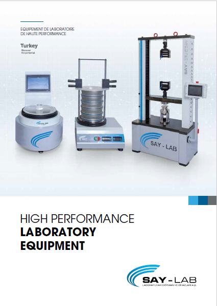 SAY-LAB 2019 OUR PRODUCTS CATALOG-TR