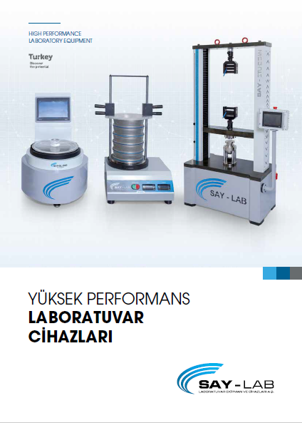 SAY-LAB PRODUCT CATALOG-TR